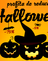 Halloween Crazy Days: reduceri monstruoase de Halloween