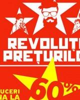 Revolutia Preturilor: profita de reducerile de pana la 60%