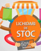 Lichidari de stoc: Reduceri pana la 50%