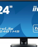 Iiyama X2481HS-B1: Monitor LED Full HD cu boxe incorporate