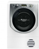 Hotpoint AQC9 6F7 TM1: uscator de rufe compact, program antialergic si rapid