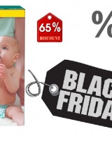 Scutece Pampers la reducere de Black Friday 2017