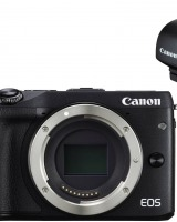 Aparat Foto Mirrorless Canon EOS M3 View Finder: design compact, performante excelente